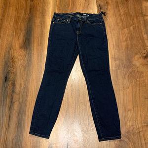 J. Crew dark indigo toothpick jeans